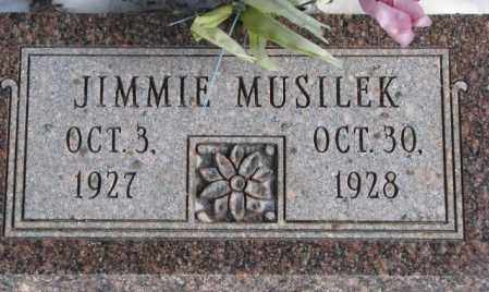 MUSILEK, JIMMIE - Bon Homme County, South Dakota   JIMMIE MUSILEK - South Dakota Gravestone Photos