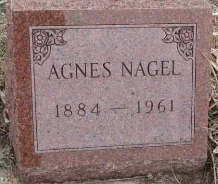 NAGEL, AGNES - Bon Homme County, South Dakota   AGNES NAGEL - South Dakota Gravestone Photos