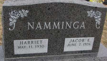 NAMMINGA, JACOB E. - Bon Homme County, South Dakota | JACOB E. NAMMINGA - South Dakota Gravestone Photos