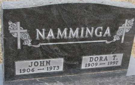 NAMMINGA, JOHN - Bon Homme County, South Dakota | JOHN NAMMINGA - South Dakota Gravestone Photos