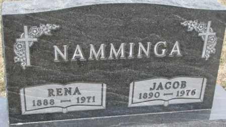 NAMMINGA, RENA - Bon Homme County, South Dakota | RENA NAMMINGA - South Dakota Gravestone Photos