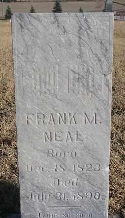 NEAL, FRANK M. - Bon Homme County, South Dakota | FRANK M. NEAL - South Dakota Gravestone Photos