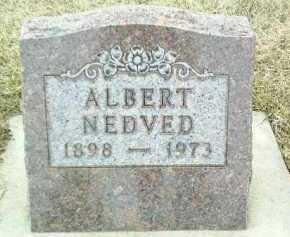 NEDVED, ALBERT - Bon Homme County, South Dakota | ALBERT NEDVED - South Dakota Gravestone Photos