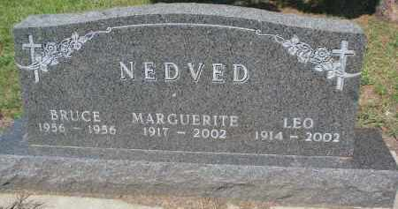 NEDVED, LEO - Bon Homme County, South Dakota | LEO NEDVED - South Dakota Gravestone Photos
