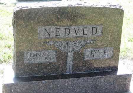 NEDVED, EMMA S. - Bon Homme County, South Dakota | EMMA S. NEDVED - South Dakota Gravestone Photos