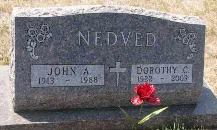 NEDVED, DOROTHY C. - Bon Homme County, South Dakota | DOROTHY C. NEDVED - South Dakota Gravestone Photos
