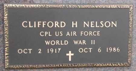 NELSON, CLIFFORD H. (WW II) - Bon Homme County, South Dakota | CLIFFORD H. (WW II) NELSON - South Dakota Gravestone Photos