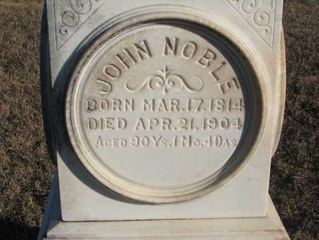 NOBLE, JOHN - Bon Homme County, South Dakota | JOHN NOBLE - South Dakota Gravestone Photos