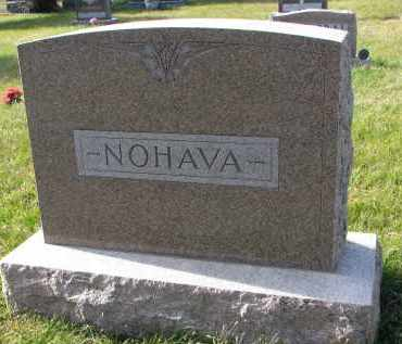 NOHAVA, FAMILY STONE - Bon Homme County, South Dakota | FAMILY STONE NOHAVA - South Dakota Gravestone Photos