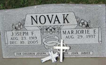 NOVAK, JOSEPH F. - Bon Homme County, South Dakota | JOSEPH F. NOVAK - South Dakota Gravestone Photos