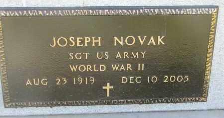 NOVAK, JOSEPH (WW II) - Bon Homme County, South Dakota | JOSEPH (WW II) NOVAK - South Dakota Gravestone Photos