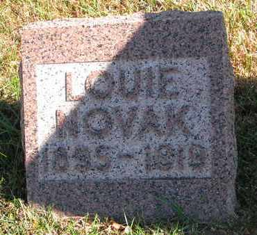 NOVAK, LOUIE - Bon Homme County, South Dakota | LOUIE NOVAK - South Dakota Gravestone Photos
