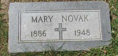 NOVAK, MARY - Bon Homme County, South Dakota   MARY NOVAK - South Dakota Gravestone Photos