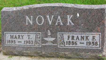 NOVAK, MARY T. - Bon Homme County, South Dakota | MARY T. NOVAK - South Dakota Gravestone Photos