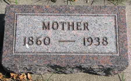 NOVAK, MOTHER - Bon Homme County, South Dakota | MOTHER NOVAK - South Dakota Gravestone Photos