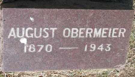 OBERMEIER, AUGUST - Bon Homme County, South Dakota | AUGUST OBERMEIER - South Dakota Gravestone Photos