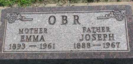 OBR, EMMA - Bon Homme County, South Dakota | EMMA OBR - South Dakota Gravestone Photos