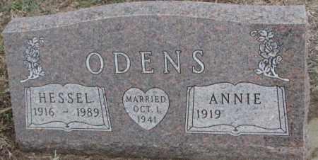 ODENS, HESSEL - Bon Homme County, South Dakota | HESSEL ODENS - South Dakota Gravestone Photos