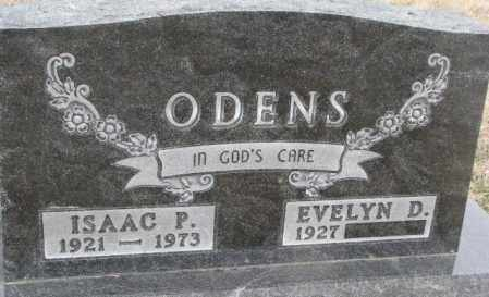 ODENS, ISAAC P. - Bon Homme County, South Dakota | ISAAC P. ODENS - South Dakota Gravestone Photos
