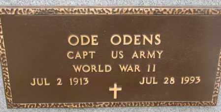 ODENS, ODE (WW II) - Bon Homme County, South Dakota | ODE (WW II) ODENS - South Dakota Gravestone Photos