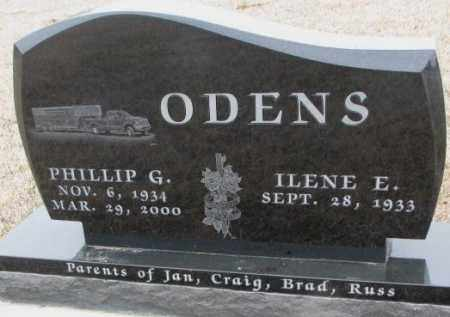 ODENS, ILENE E. - Bon Homme County, South Dakota | ILENE E. ODENS - South Dakota Gravestone Photos
