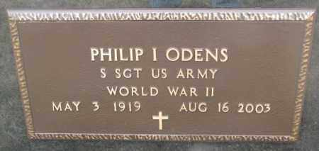 ODENS, PHILIP I. (WW II) - Bon Homme County, South Dakota | PHILIP I. (WW II) ODENS - South Dakota Gravestone Photos