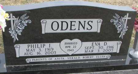 ODENS, PHILIP I. - Bon Homme County, South Dakota | PHILIP I. ODENS - South Dakota Gravestone Photos