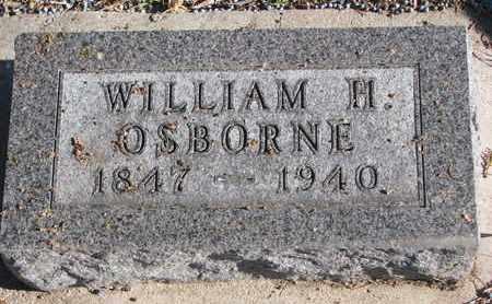 OSBORNE, WILLIAM H. - Bon Homme County, South Dakota | WILLIAM H. OSBORNE - South Dakota Gravestone Photos