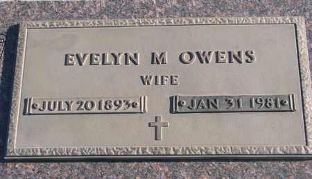 OWENS, EVELYN M. - Bon Homme County, South Dakota | EVELYN M. OWENS - South Dakota Gravestone Photos