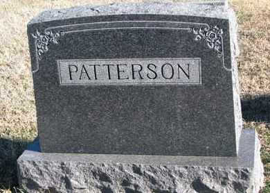 PATTERSON, FAMILY STONE - Bon Homme County, South Dakota | FAMILY STONE PATTERSON - South Dakota Gravestone Photos