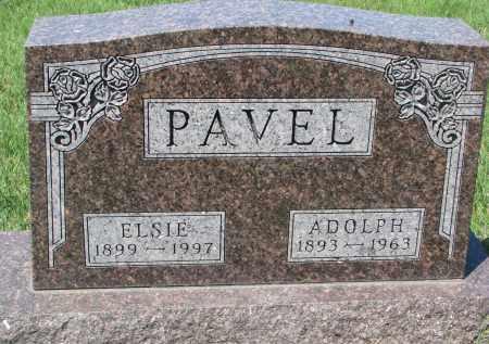 PAVEL, ELSIE - Bon Homme County, South Dakota | ELSIE PAVEL - South Dakota Gravestone Photos