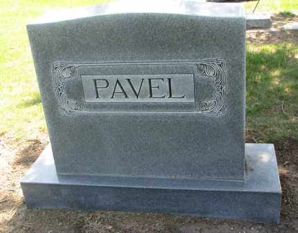 PAVEL, FAMILY STONE - Bon Homme County, South Dakota | FAMILY STONE PAVEL - South Dakota Gravestone Photos