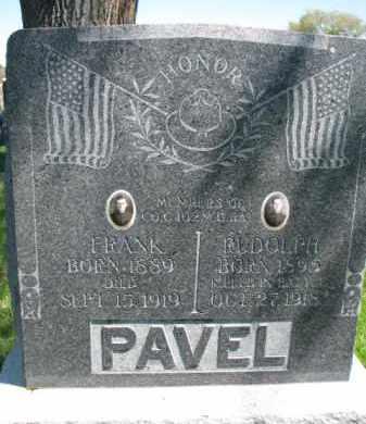 PAVEL, RUDOLPH - Bon Homme County, South Dakota | RUDOLPH PAVEL - South Dakota Gravestone Photos