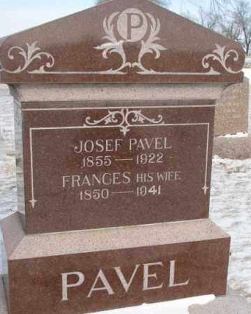 PAVEL, JOSEF - Bon Homme County, South Dakota | JOSEF PAVEL - South Dakota Gravestone Photos