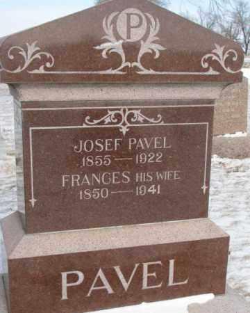 PAVEL, FRANCES - Bon Homme County, South Dakota | FRANCES PAVEL - South Dakota Gravestone Photos
