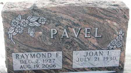 PAVEL, RAYMOND F. - Bon Homme County, South Dakota | RAYMOND F. PAVEL - South Dakota Gravestone Photos