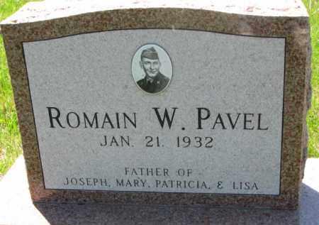 PAVEL, ROMAIN W. - Bon Homme County, South Dakota | ROMAIN W. PAVEL - South Dakota Gravestone Photos