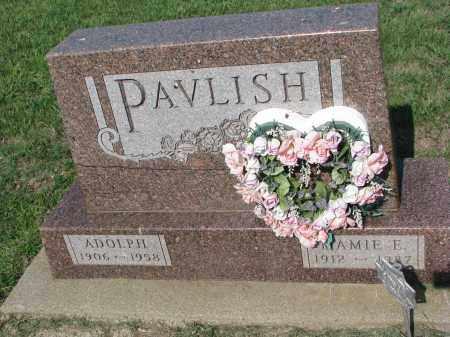 PAVLISH, MAMIE E. - Bon Homme County, South Dakota | MAMIE E. PAVLISH - South Dakota Gravestone Photos