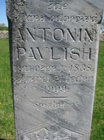PAVLISH, ANTONIN - Bon Homme County, South Dakota | ANTONIN PAVLISH - South Dakota Gravestone Photos