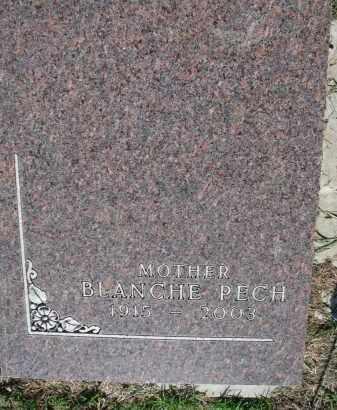 PECH, BLANCHE - Bon Homme County, South Dakota | BLANCHE PECH - South Dakota Gravestone Photos