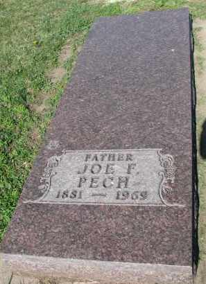 PECH, JOE F. - Bon Homme County, South Dakota | JOE F. PECH - South Dakota Gravestone Photos