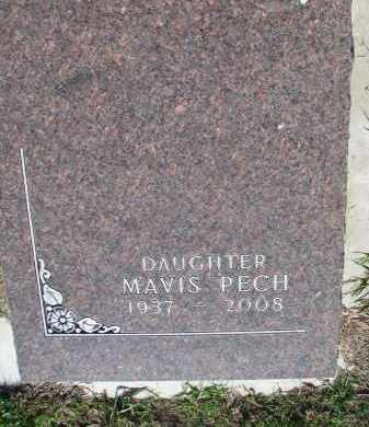 PECH, MAVIS - Bon Homme County, South Dakota | MAVIS PECH - South Dakota Gravestone Photos