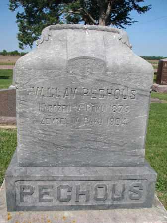PECHOUS, VACLAV - Bon Homme County, South Dakota | VACLAV PECHOUS - South Dakota Gravestone Photos