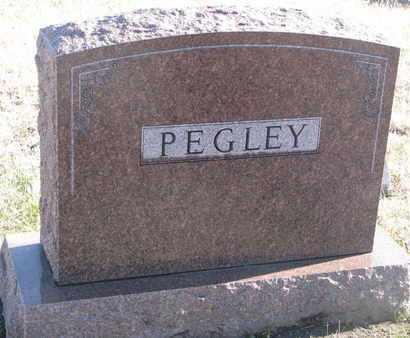 PEGLEY, FAMILY STONE - Bon Homme County, South Dakota   FAMILY STONE PEGLEY - South Dakota Gravestone Photos