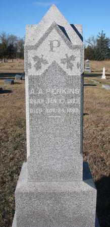PERKINS, A.A. - Bon Homme County, South Dakota   A.A. PERKINS - South Dakota Gravestone Photos
