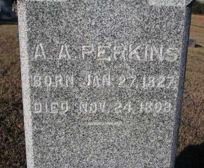 PERKINS, A.A. (CLOSEUP) - Bon Homme County, South Dakota | A.A. (CLOSEUP) PERKINS - South Dakota Gravestone Photos