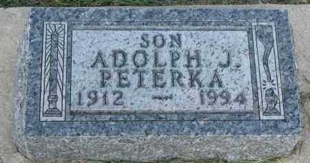 PETERKA, ADOLPH J. - Bon Homme County, South Dakota | ADOLPH J. PETERKA - South Dakota Gravestone Photos