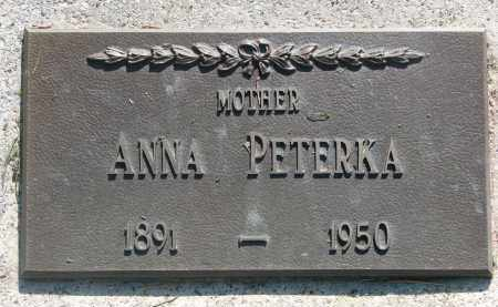 PETERKA, ANNA - Bon Homme County, South Dakota | ANNA PETERKA - South Dakota Gravestone Photos