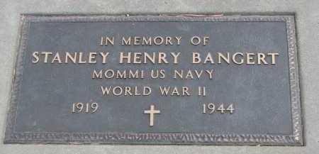 BANGERT, STANLEY HENRY - Bon Homme County, South Dakota | STANLEY HENRY BANGERT - South Dakota Gravestone Photos