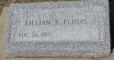 PLIHAL, LILLIAN R. - Bon Homme County, South Dakota   LILLIAN R. PLIHAL - South Dakota Gravestone Photos